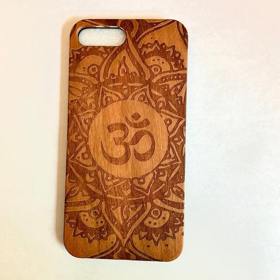 Funda iPhone 7 Plus iPhone 8 Plus Case Madera Grabada