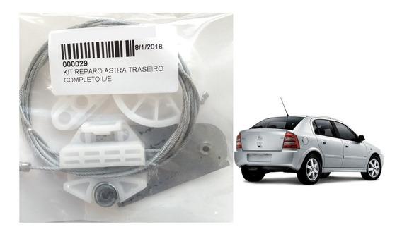 Kit P/ Reparo Maquina Vidro Eletrico - Astra Traseiro L/e