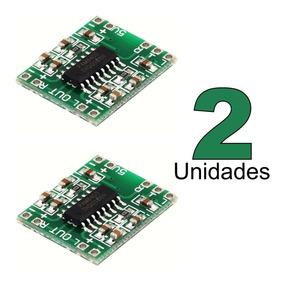 2 Peças Amplificador De Áudio Placa Mini Pam8403 2 X 3 W Rms