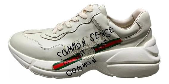 Tenis Gucci Rhyton Common Sens Hombre Envio Gratis