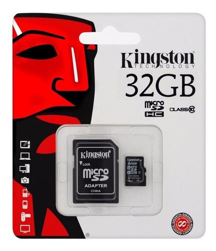 Imagen 1 de 5 de Memoria Micro Sd 32gb Clase 10 Kingston