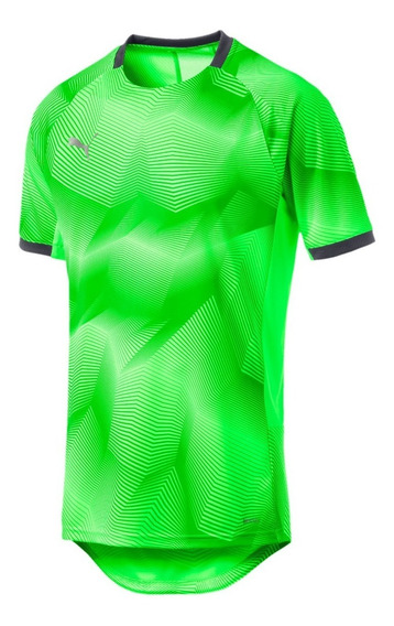 Puma Remera Running Hombre Ftb Nxt Graphic Shirt Verde
