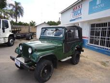 Jeep Willys 1958, Capota Nova, Opala 4 Cc