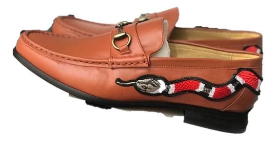 Zapatos Gucci Cafés Serpiente Envio Gratis Liquidacion