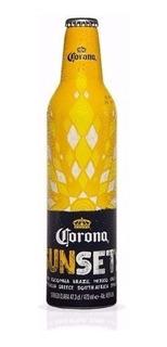 Botella Alumiño Cerveza Corona Sun Sets Coleccion