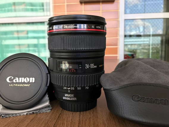 Lente Canon 24-105mm F4.0 Série L (luxury)