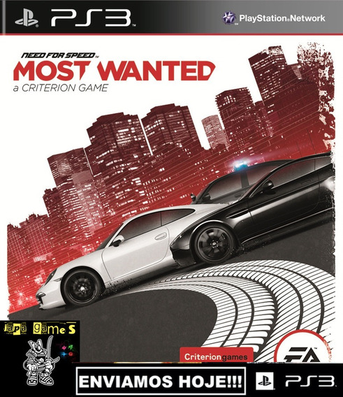 Need For Speed Most Wanted Jogos Ps3 Psn Original