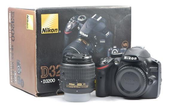 Câmera Nikon D3200, Com Lente 18-55mm Só 3697 Clics