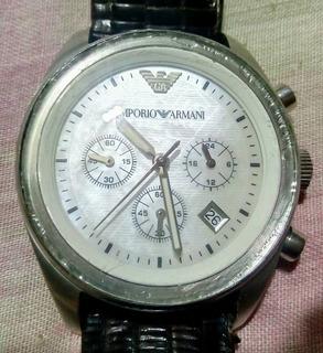 Reloj Emporio Armani Original Cronografo