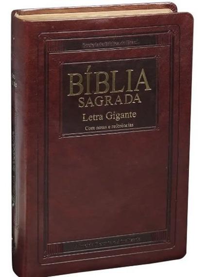 Bíblia Sagrada Letra Gigante - Capa Luxo