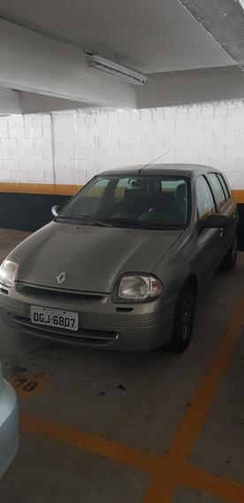 Clio Rn 1.0 16v Carro De Garagem. Direção Higráulica*
