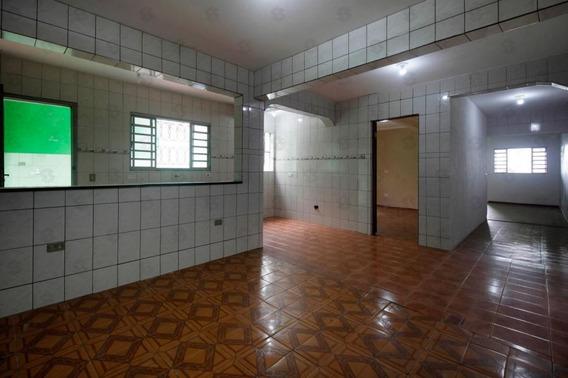Casa. 120 M² - Vila Lisboa, Mauá -2 Dormitórios. - Ca0052