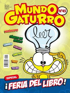Revista Mundo Gaturro Nº 45. Feria Del Libro.