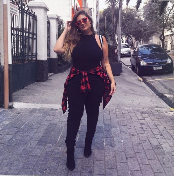 Camisa Cuadrille Mujer Xxl Talles Especiales