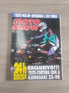 Revista Moto Show 136 Kawasaki Zx Trilha Suzuki 720