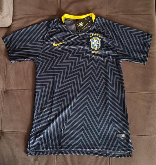 Camisa Brasil Pré-jogo 2018