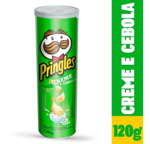 Batata Pringles Sabor Creme E Cebola 120g