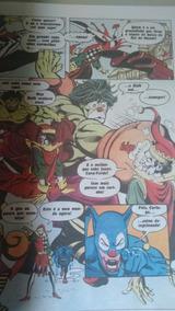 Batman Versus Hulk Ebal Gigante 27 X 36 Cm Frete Módico