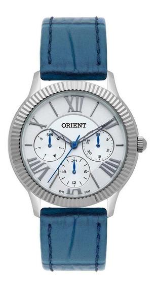 Relógio Feminino Orient Multifunção Fbscm009 S3dx Prata