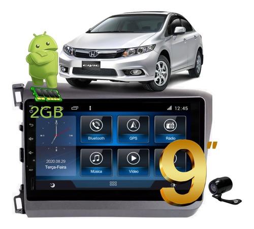 Kit Central Multimidia Civic 12 13 14 Aikon Atom Android 8