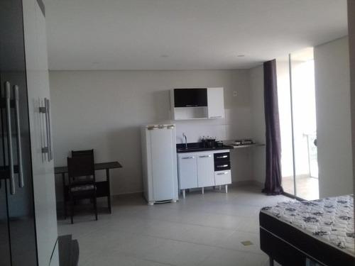 Imagem 1 de 15 de Flat Com 1 Dormitório Para Alugar, 38 M² - Vila Augusta - Guarulhos/sp - Ai14780