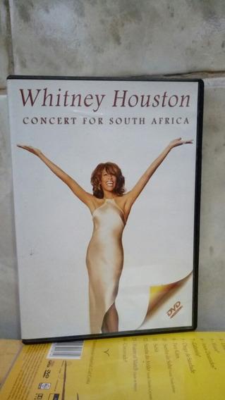 Música Whitney Houston Concert For South África Dvd Original