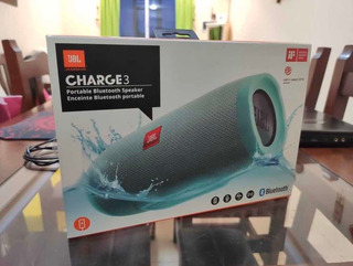 Jbl Charge 3 Original- Impecable- Parlante