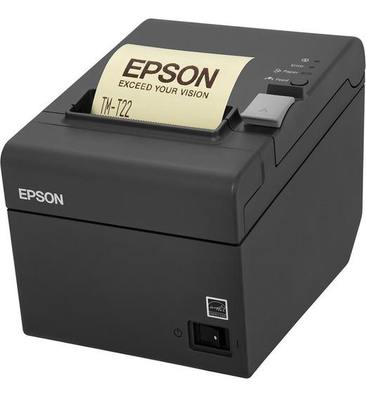 Impressora Epson Térmica Não Fiscal Tm-t20 Usb Cinza Escuro