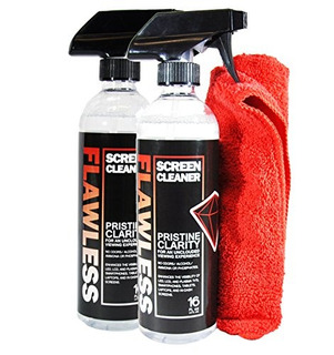 Spray Limpiador De Pantalla Impecable Con Paño De Limpieza D