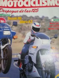 Motociclismo N 997 Año 1987 Despegue De Las 125 Suzuki Rg