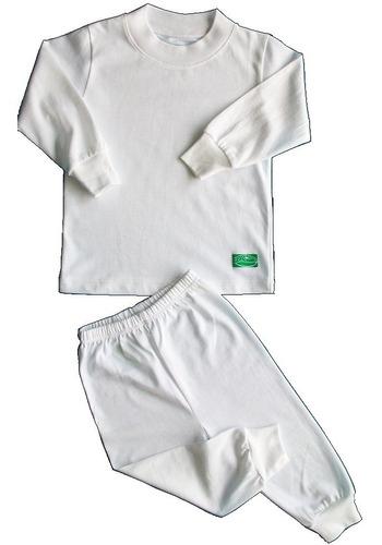 Pijama Bebe 0-3 Meses Algodón Pima X4packs