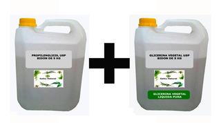 Kit Vegetal Glicerina Por 5k + Propilenglicol X 5k Belgrano