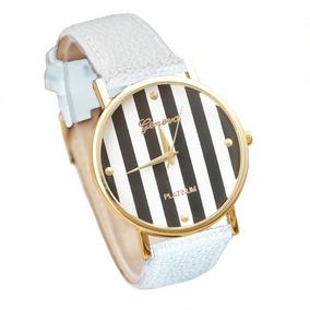 Blanco Relojes 15 Originals Pulsera Mil Linda 100Cuero Adidas OX8wknP0