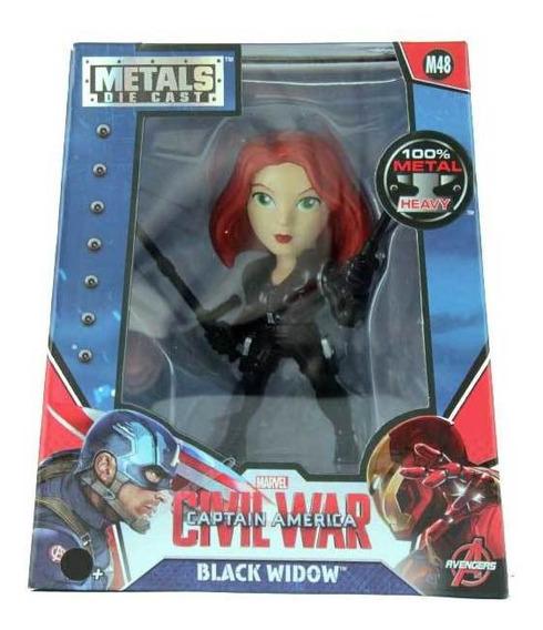 Boneca Black Widow Civil War - Metal Die Cast