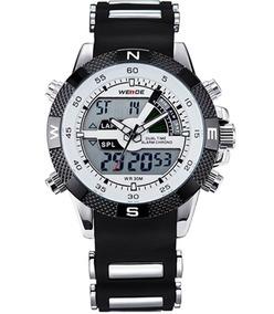 Relógio Masculino Weide, Aço Inox, Rolex Promoção
