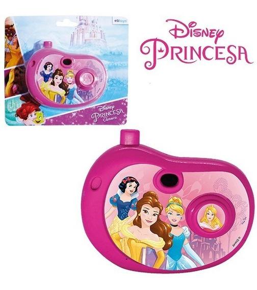 Camera Fotografica Infantil Brinquedo Menina Barato Com Imagem Princesas Na Cartela