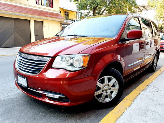 Chrysler Town And Country 2012 Touring Piel Dvd Climatronic