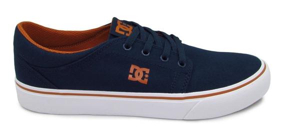 Tenis Dc Shoes Trase Tx Adys300126 Nc2 Navy Camel Azul
