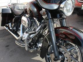 Harley Davidson, Street Glide Cvo, Negra