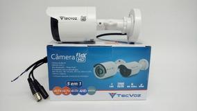 Câmera Tec Voz Bullet 25m 1 Mp Flex Hd 5 Em 1 Ccb-136p