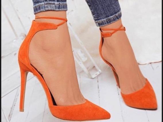 Sapato Scarpin Fashion, Salto 7 Ou 11cm -várias Cores