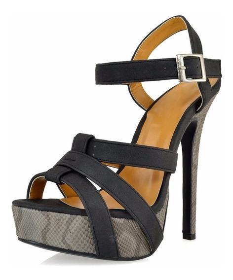Zapatillas Importadas Promise Modelo Brunswick Negro