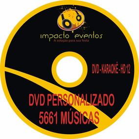 Dvd Karaokê Hd12 Para Aparelho Vmp300d Mando 2 Midias