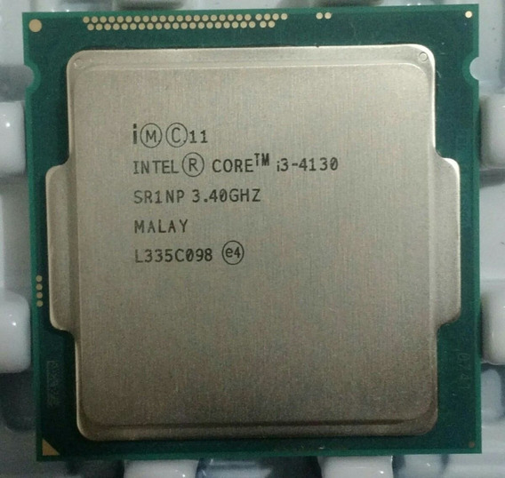 Processador Intel Core I3-4130 3.40ghz Oem + Cooler Novo
