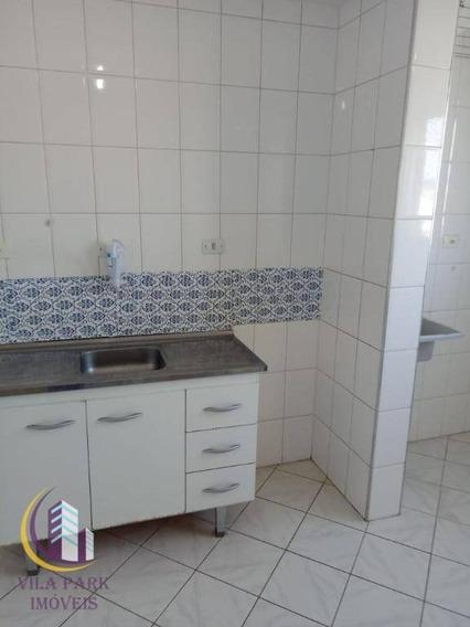 Apartamento Com 2 Dormitórios Para Alugar, 62 M² Por R$ 850,00/mês - Jardim Veloso - Osasco/sp - Ap1584