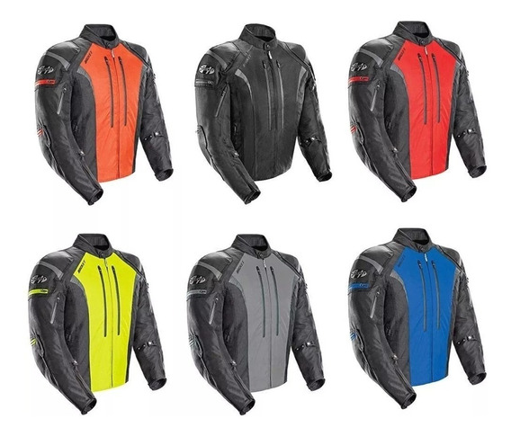 Campera Joe Rocket 5.0 Atomic C/ Proteccion En Freeway Motos