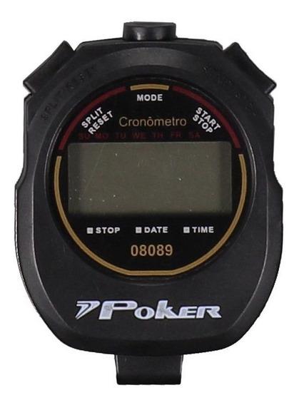 Cronômetro Poker Ergo Digital Preto