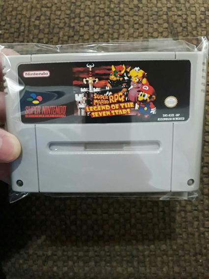 Fita De Super Nintendo Mario Rpg Em Português