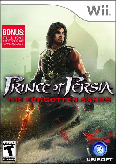 Jogo Mídia Física Prince Of Persia The Forgotten Sands Wii