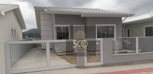 Imagem 1 de 3 de Casa Com 3 Dormitórios À Venda, 70 M² Por R$ 340.000,00 - São Sebastião - Palhoça/sc - Ca0679